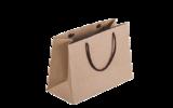 крафт пакеты, пакеты из крафта с веревочными ручками, печать логотипа на пакетах из крафт бумаги