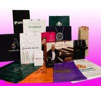 бумажные пакеты с логотипом, виды бумажных пакетов, бумажные пакеты