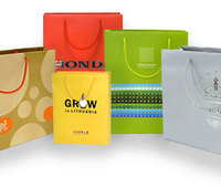 Бумажные пакеты с логотипом, бумажные пакеты