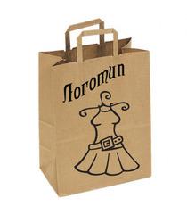 логотип на крафт пакете,печать логотипа на крафте,шелкография на крафт-пакете,бурый крафт,