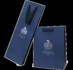 дизайнерские пакеты, атласные ручки на дизайнерском пакете,тиснение логотипа на дизайнерском пакете, бумажные дизайнерские пакеты