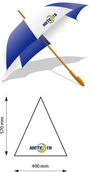 логотип на зонте,размер нанесения логотипа,печать логотипа на зонтах