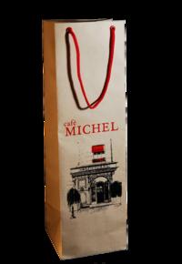 пакеты под бутылку, шелкография на пакете из  эфалина под бутылку, печать логотипа на пакете под бутылку, сувенирные пакеты для бутылок, бумажные пакеты под бутылку