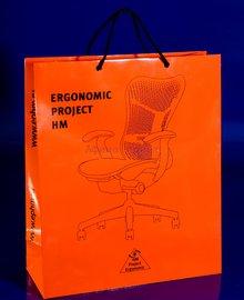 пакет с нанесением,логотип на пакете,бумажный пакет с ламинацией