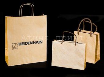 бумажные крафт пакеты, коричневые крафт пакеты, крафт пакеты с веревочными ручками, краф бумага для пакетов, печать логотипа на крафт пакетах, пакеты из крафта