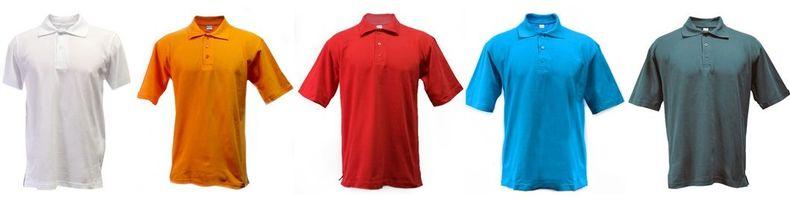 рубашки поло,цветные рубашки поло,печать логотипа на рубашках поло,шелкография на рубашках поло