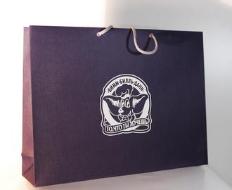 пакеты из эфалина, печать на эфалине, трафаретная печать на бумажном пакете, пакеты с логотипом из эфалина, шелкография на эфалине, бумажный пакет из эфалина, печать логотипа на пакете из эфалина