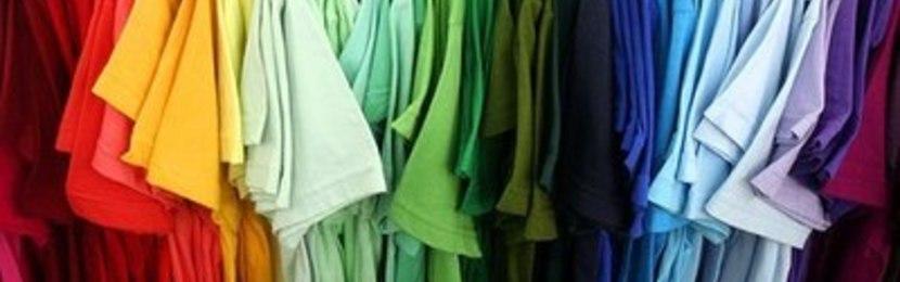 футболки цветные,промо футболки,футболки под нанесение